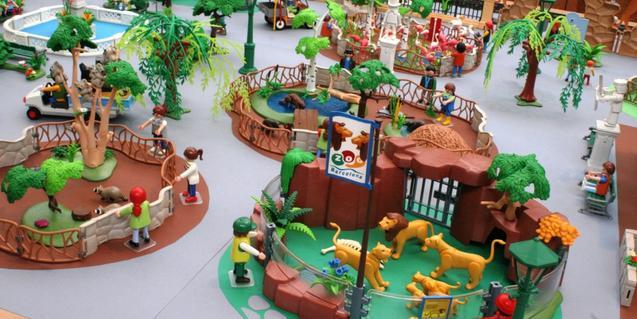 Exposición de clicks reproducción del Zoo