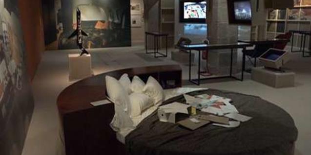 Les visites guiades a la mostra tenen lloc els caps de setmana
