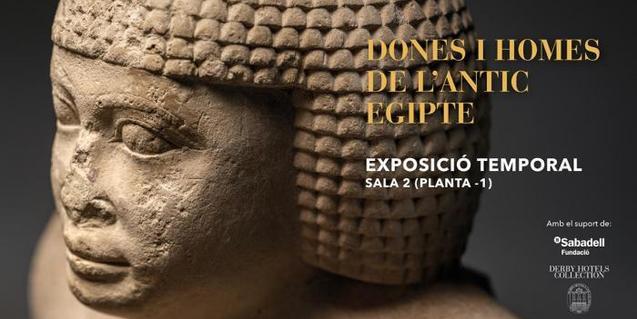 Exposición 'Hombres y mujeres del antiguo Egipto' en el Museo Egipcio de Barcelona
