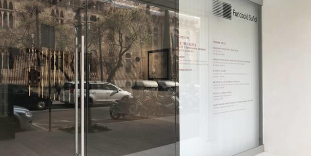 La Fundació Suñol, tancada al públic, però oberta en línia