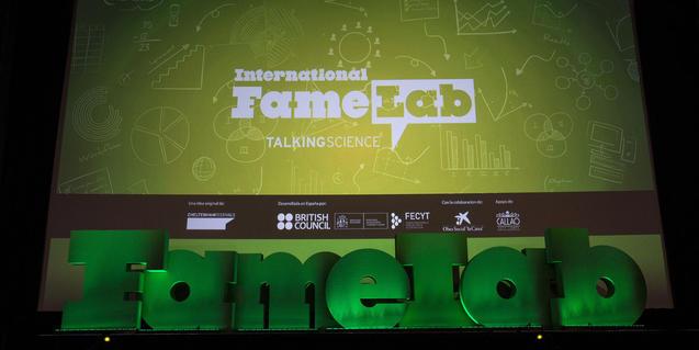 Imagen del escenario del Famelab
