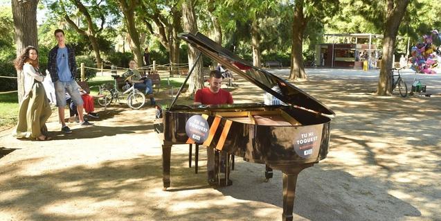 Pianos en el Parc de la Ciutadella