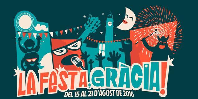 Una imagen del cartel de la Fiesta Mayor de Gràcia de este año