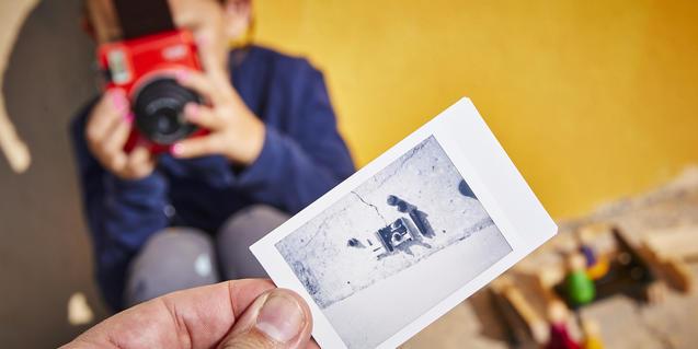 Un dels tallers del Flic de fotografia i creació