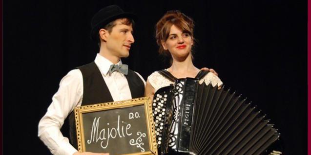 Edurne Arizu i Txus Eguílaz són 'Olivia & Olivier'