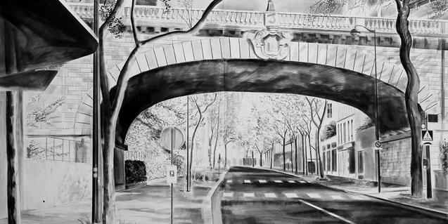 Obra d'Yves Bélorgey present a la mostra de la Virreina Centre de la Imatge