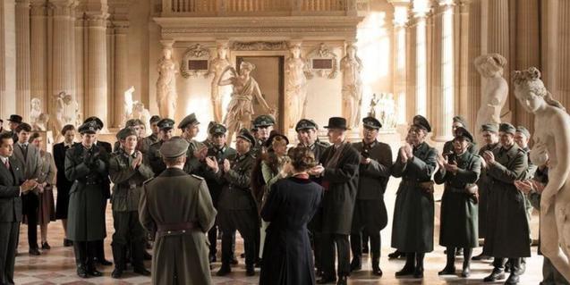 Un moment de la pel·lícula Francofonia
