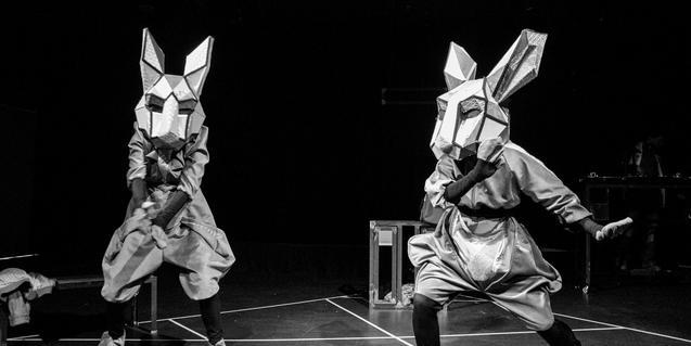 Un momento de 'Fuga de conills'