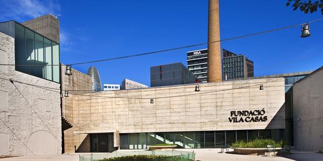 Fachada de una de las sedes de la Fundació Vila Casas.