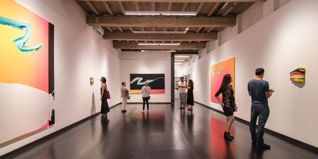 Una imagen de este espacio de arte antes de que empezara el confinamiento