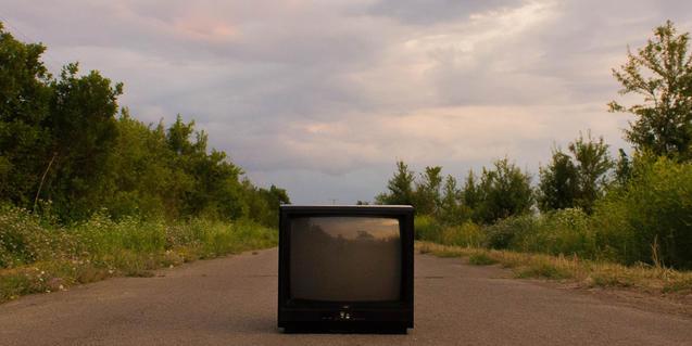 Un televisor dels antics