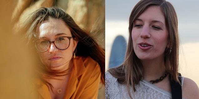 Un collage fotográfico muestra en primer plano a las dos artistas que protagonizan la próxima actuación del ciclo
