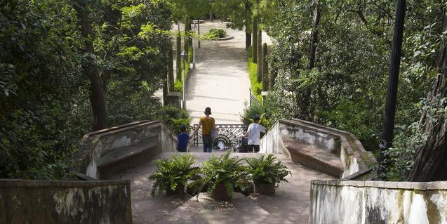 Imatge dels Jardins de Laribal, Foto: Òscar Giralt.