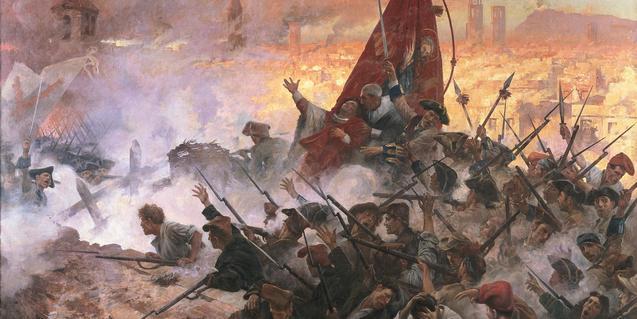 El setge de Barcelona, 1714