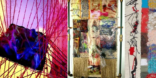 L'exposició de tapissos contemporanis estarà al Reial Cercle Artístic fins al 5 de març