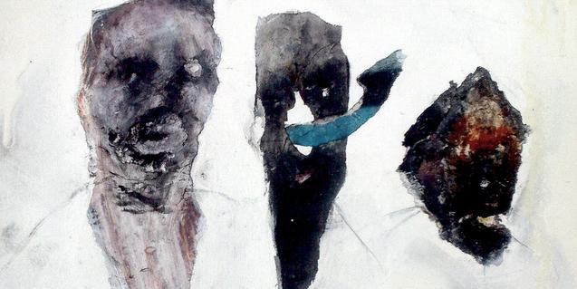Una de les obres de Riot Über Alles que formen part de l'exposició