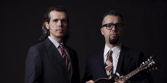 Los dos integrantes de esta banda, invitados de la primera sesión del Cicle Indiscret