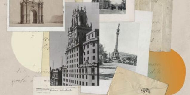 Cartell que il·lustra l'acció 'Històries de dues ciutats'