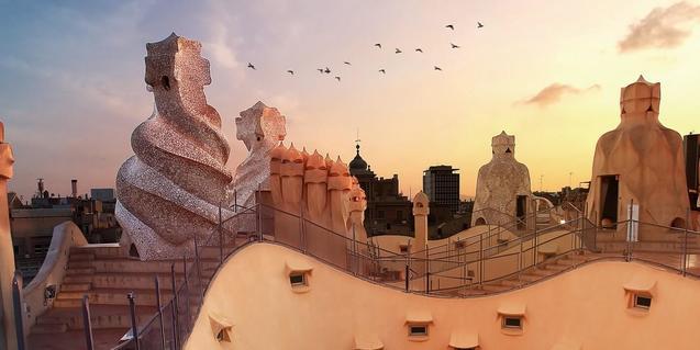 La Pedrera offers a virtual visit through their website