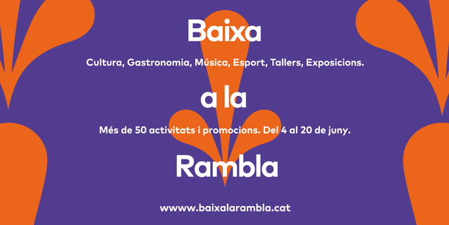 Phase two of the 'Walk Down La Rambla' campaign