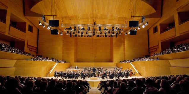Al canal de YouTube del CMMB podeu recuperar el concert de l'Orquestra i les Bandes a L'Auditori. Fotografia de L'Auditori