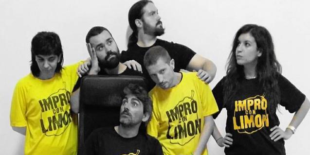 Els actors i actrius que protagonitzen Impro con Limón