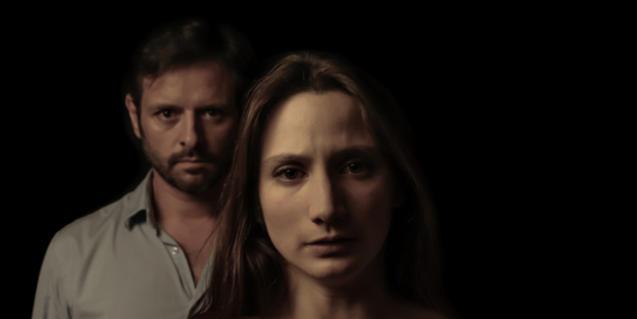 Celia Baeza y David Font, intérpretes de 'Inèrcia'