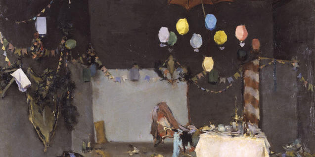 'Interior d'un taller' by Ramon Casas