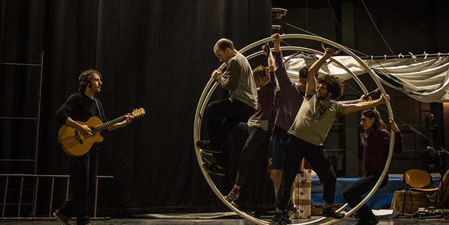Un momento de la representación del Circ d'Hivern de este año
