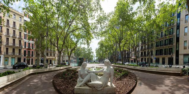 Els Jardinets de Gràcia és un dels indrets per visitar que proposa la Fundació Mercè Rodoreda