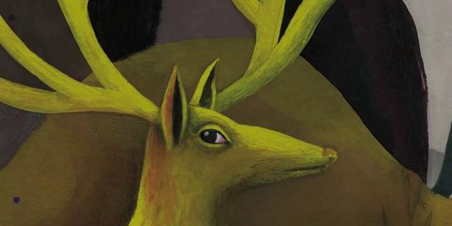 ilustración interior del libro de jatakas de Marta Millà