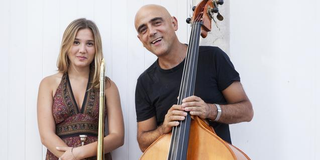 Joan Chamorro and Rita Payés