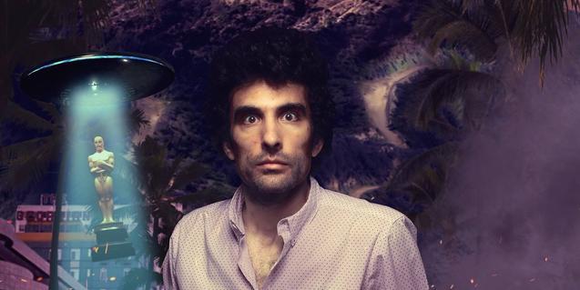 Un muntatge fotogràfic mostra l'actor i una estatueta dels Oscar