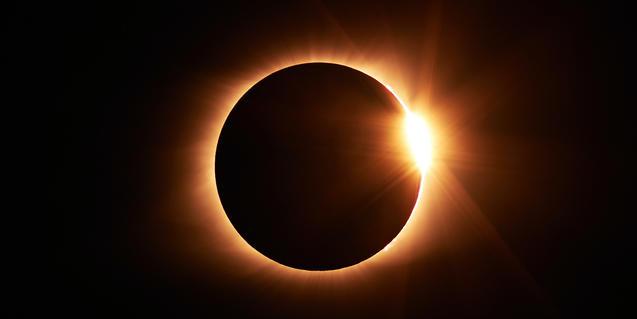 Imatge d'un eclipsi de sol