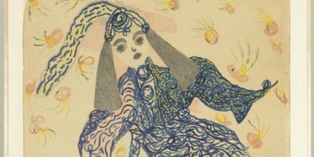 Josefa Tolrà, El ángel y el mendigo, 1956