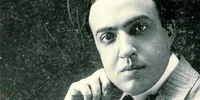 Una imatge de joventut de Josep Carner