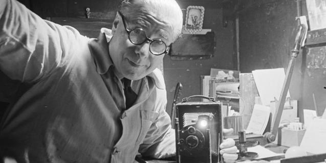 Josep Coté i la seva càmera