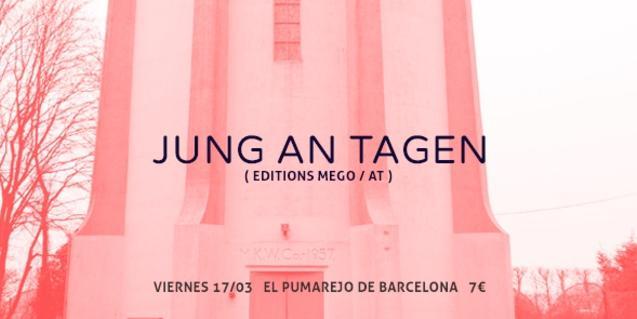 El cartel que anuncia la actuación de este músico experimental en El Pumarejo