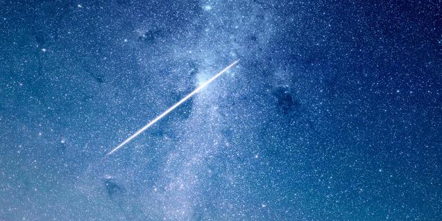 Imatge d'un estel fugaç