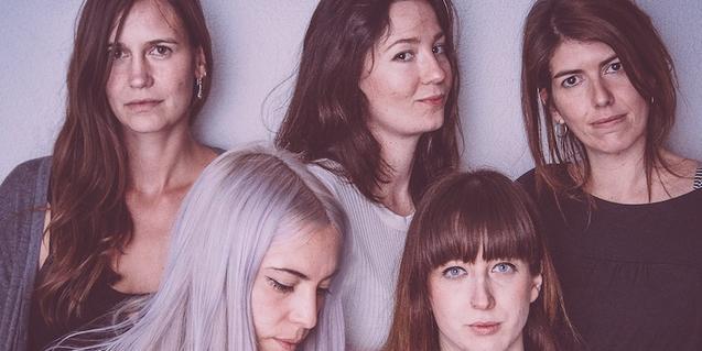 Les integrants d'aquesta banda femenina de Barcelona