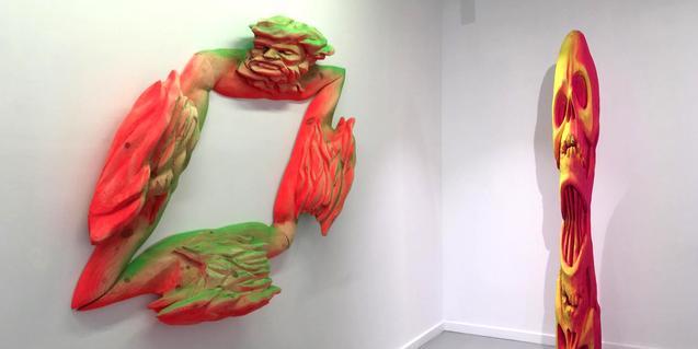 Dues de les obres de Kiko Miyares