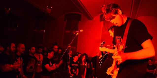 Una imagen de la banda norteamericana de rock Kowloon Walled City