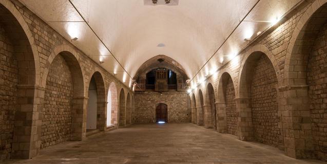 Fotografia de l'interior de La Capella