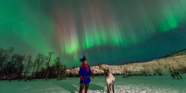 La luz en la tierra de los sami