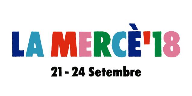 The poster for the La Mercè 2018 festival