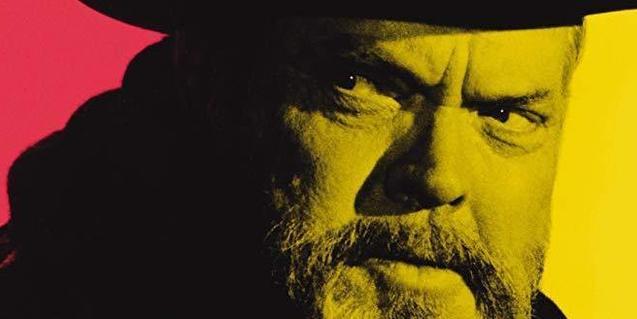 Imatge del cartell del documental 'La mirada de Orson Welles'