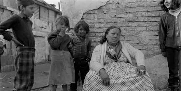 Una de les imatges d'Esteve Lucerón sobre el barri de La Perona. Pertany a una de les exposicions que aquest 2021 acollirà l'Arxiu Fotogràfic de Barcelona. © La Perona / Esteve Lucerón