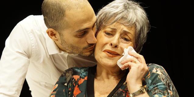 Pep Papell y Amparo Moreno son los protagonistas de la obra