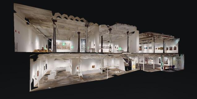 Podeu visitar les exposicions temporals del Museu Can Framis i els Espais Volart en línia