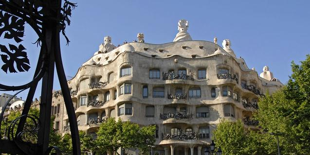 Gaudí va projectar un dels edificis més emblemàtics de Barcelona. Foto: Antonio Lajusticia Bueno.